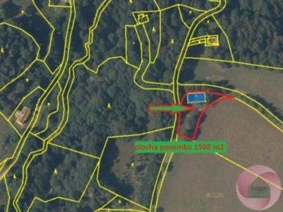 Prodej stavebního pozemku v obci Bělá u Liberka