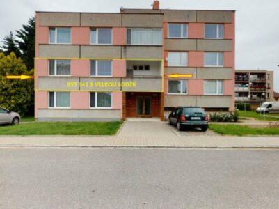 Prodej bytu 3+1 v OV v Chocni
